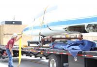 Roy Unloads 5000 Pound Jet
