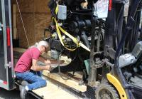 Roy Loads Linotype