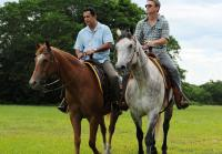 Carlos and Jim on Horseback