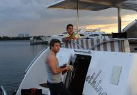 Jim finds boat engine was sabotaged