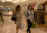 Callie and Joan at the Mall