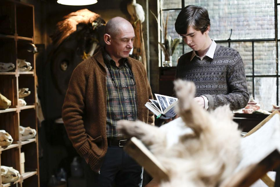 Will teaches Norman taxidermy