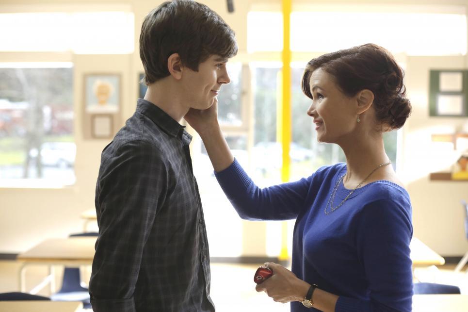 Miss Watson asks Norman to keep a secret