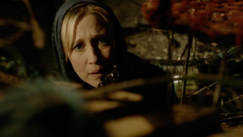 Norma readies her gun