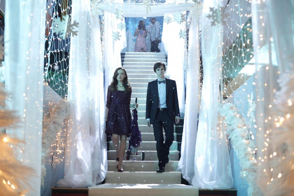 Norman and Emma at Winter Formal