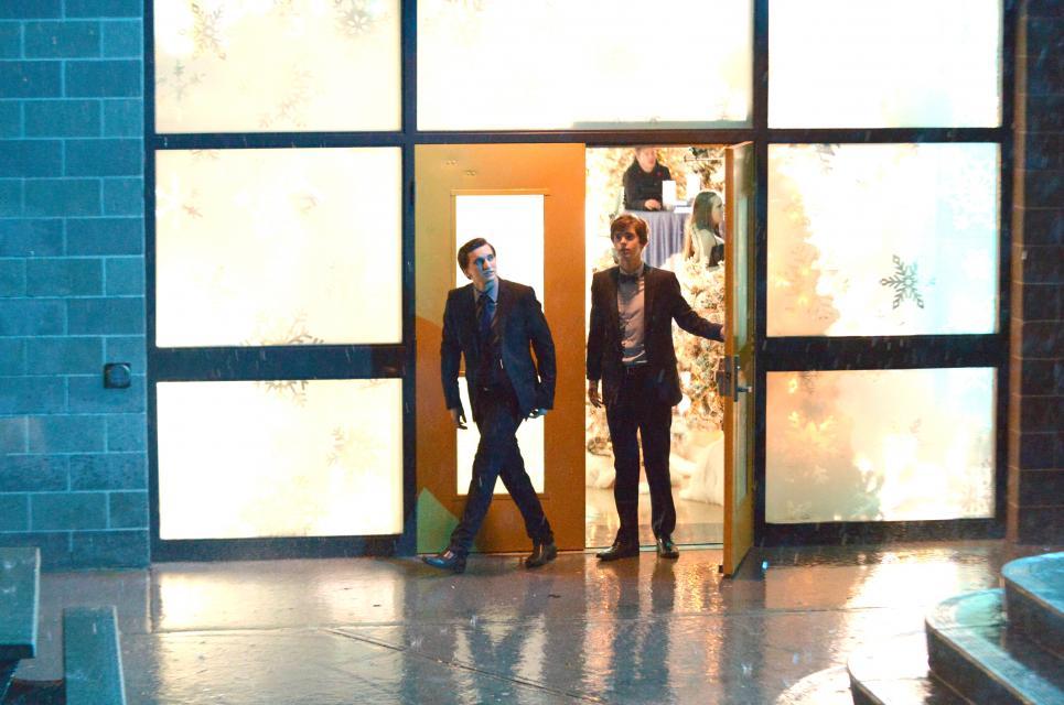 Richard tells Norman to leave Bradley alone