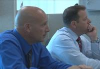Detectives watch colleague interview friend of  victim