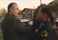 Tim Stewart learns victim's relative may be at scene