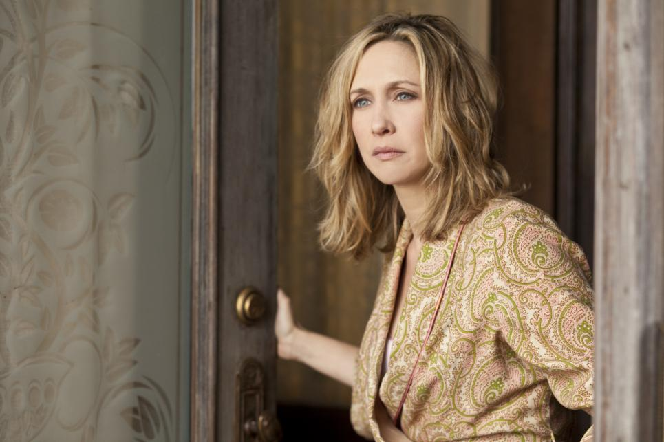 Norma Bates answers the door