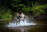 Norman and Emma cross stream