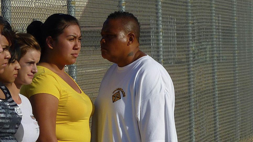 Teen confronted by female Chowchilla inmate