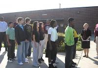 Teens enter Lieber Correctional Institution