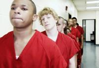 Teens line up