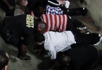 Deputies motivate teens to do push-ups