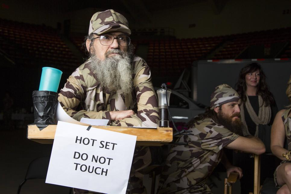 Si Robertson doesn't play by rules