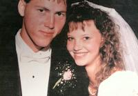 Jase and Missy  on their wedding day