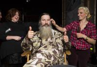 Phil approves of hairspray and styling tools