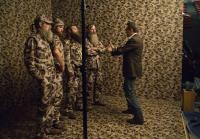 Photographer Art Streiber directs Robertson men