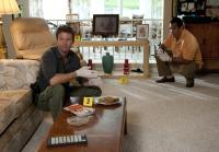 Carlos and Jim investigate Doris's home