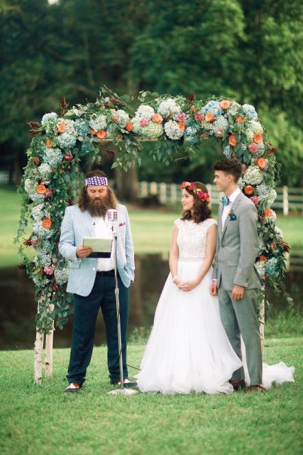 John Luke on His Wedding Day