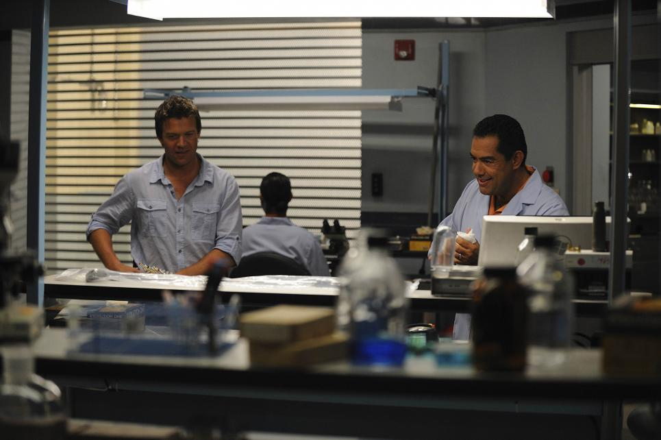 Longworth joins Sanchez in lab