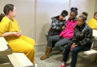 A female inmate shares her story.