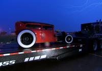 Marc hopes hot rod does not rust